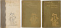 Books:First Editions, Emily Dickinson. Poems [First Series]. [with:] Poems.Second Series. [and:] Poems. Third Series...