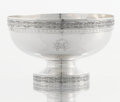 Silver Holloware, American:Bowls, AN AMERICAN SILVER FOOTED BOWL. Mauser Manufacturing Co., New York,New York, circa 1890. Marks: (unicorn), MAUSER MF'G. C...