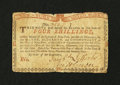 Colonial Notes:New York, New York August 25, 1774 (Water Works) 4s Very Fine....