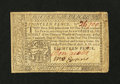 Colonial Notes:Pennsylvania, Pennsylvania April 10, 1777 1s/6d with Ben Jacobs Signature VeryFine....