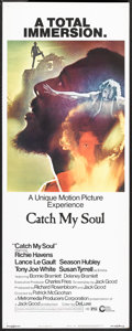 "Movie Posters:Rock and Roll, Catch My Soul (Cinerama Releasing, 1974). Insert (14"" X 36""). Rockand Roll.. ..."
