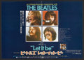 "Movie Posters:Rock and Roll, Let It Be (United Artists, 1970). Japanese Speed (14.25"" X 20.25"").Rock and Roll.. ..."