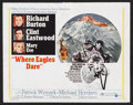 """Movie Posters:War, Where Eagles Dare (MGM, 1968). International Lobby Card Set of 8(11"""" X 14""""). War.. ... (Total: 8 Items)"""