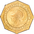 Commemorative Gold, 1915-S $50 Panama-Pacific 50 Dollar Octagonal MS64 PCGS....