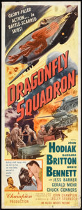"Movie Posters:War, Dragonfly Squadron (Allied Artists, 1954). Insert (14"" X 36"").War.. ..."
