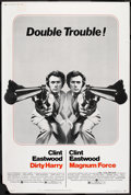 """Movie Posters:Crime, Dirty Harry/Magnum Force Combo (Warner Brothers, 1975). Poster (40""""X 60""""). Crime.. ..."""