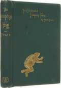 Books:First Editions, Mark Twain. The Celebrated Jumping Frog of Calaveras County, andOther Sketches. Edited by John Paul [pseudo...