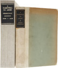 Books:Signed Editions, Ernest Hemingway. A Farewell to Arms. New York: Charles Scribner's Sons, 1929....