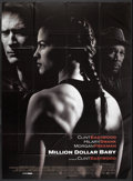 "Movie Posters:Sports, Million Dollar Baby (Warner Brothers, 2004). French Grande (47"" X 63""). Sports.. ..."