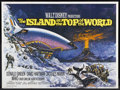 "Movie Posters:Adventure, The Island at the Top of the World (Buena Vista, 1974). BritishQuad (30"" X 40""). Adventure.. ..."