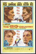 """Movie Posters:Western, The Big Country (United Artists, 1958). One Sheet (27"""" X 41"""") Style A. Western.. ..."""