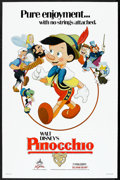 "Movie Posters:Animated, Pinocchio (Buena Vista, R-1984). One Sheet (27"" X 41""). Animated....."