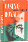 Books:First Editions, Ian Fleming. Casino Royale. New York: Macmillan, 1954..First American edition. Octavo. 176 pages.. Publishe...