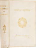 Books:First Editions, Joel Chandler Harris. Uncle Remus His Songs and His Sayings.New York: D. Appleton, 1895.. New and revised edi...