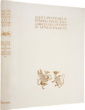 Books:Children's Books, [Arthur Rackham, illustrator]. Lewis Carroll. Alice's Adventuresin Wonderland. London / New York: William Hei...