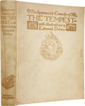 Books:Signed Editions, [Edmund Dulac, illustrator]. [William Shakespeare].Shakespeare's Comedy of The Tempest. London: Hodder &Stough...
