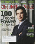"""Hockey Collectibles:Others, Sidney Crosby Signed """"The Hockey News"""". ..."""