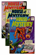 Silver Age (1956-1969):Horror, House of Mystery Group (DC, 1961-72) Condition: Average VF....(Total: 17 Comic Books)