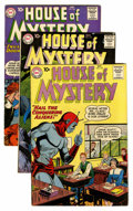 Silver Age (1956-1969):Horror, House of Mystery Group (DC, 1960-61) Condition: Average FN+....(Total: 13 Comic Books)