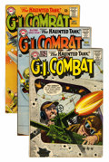 Silver Age (1956-1969):War, G.I. Combat Group (DC, 1961-64) Condition: Average FN.... (Total: 7 Comic Books)