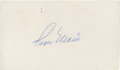 Autographs:Post Cards, 1975 Roger Maris Signed Government Post Card. ...