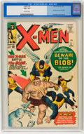 Silver Age (1956-1969):Superhero, X-Men #3 (Marvel, 1964) CGC NM- 9.2 Off-white pages....