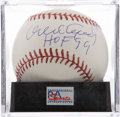 Autographs:Baseballs, Orlando Cepeda Single Signed Baseball PSA Mint 9. ...