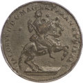 Colonials, (1688) TOKEN American Plantations 1/24 Part Real, Sidewise 4 AU55 PCGS....