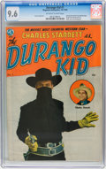 Golden Age (1938-1955):Western, The Durango Kid #1 (Magazine Enterprises, 1949) CGC NM+ 9.6Off-white to white pages....