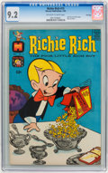 Silver Age (1956-1969):Humor, Richie Rich #15 File Copy (Harvey, 1963) CGC NM- 9.2 Off-white to white pages....