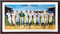 Autographs:Others, 500 Home Run Club Signed Poster by Ron Lewis....