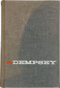 Boxing Collectibles:Autographs, Jack Dempsey Signed Book. ...