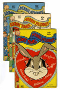 Golden Age (1938-1955):Cartoon Character, Looney Tunes and Merrie Melodies Comics Group (Dell, 1944-56)Condition: Average VG/FN.... (Total: 10 Comic Books)