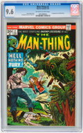Bronze Age (1970-1979):Horror, Man-Thing #2 (Marvel, 1974) CGC NM+ 9.6 Off-white to whitepages....