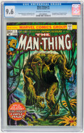Bronze Age (1970-1979):Horror, Man-Thing #1 (Marvel, 1974) CGC NM+ 9.6 Off-white to whitepages....
