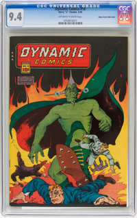 Dynamic Comics #18 Mile High pedigree (Chesler, 1946) CGC NM 9.4 Off-white to white pages