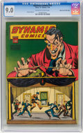 Golden Age (1938-1955):Horror, Dynamic Comics #19 Mile High pedigree (Chesler, 1946) CGC VF/NM 9.0 Off-white to white pages....