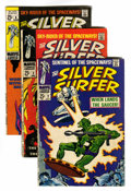 Silver Age (1956-1969):Superhero, The Silver Surfer Group (Marvel, 1968-70).... (Total: 12 Comic Books)