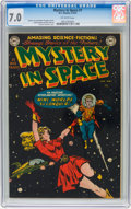 Golden Age (1938-1955):Science Fiction, Mystery in Space #1 (DC, 1951) CGC FN/VF 7.0 Off-white pages....