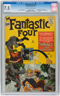 Silver Age (1956-1969):Superhero, Fantastic Four #2 (Marvel, 1962) CGC VF- 7.5 Cream to off-whitepages....