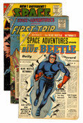 Golden Age (1938-1955):Science Fiction, Space Adventures 13, 20, and 44 Group (Charlton, 1954-62)....(Total: 3 Comic Books)