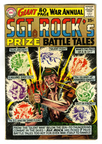 Sgt. Rock's Prize Battle Tales Annual #1964 (DC, 1964) Condition: FN-