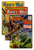 Golden Age (1938-1955):War, Our Army at War Group (DC, 1954-55).... (Total: 4 )