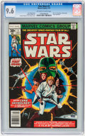 Bronze Age (1970-1979):Superhero, Star Wars #1 (Marvel, 1977) CGC NM+ 9.6 Off-white to white pages....