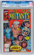 Modern Age (1980-Present):Superhero, The New Mutants #87 and 98 CGC-Graded Group (Marvel, 1990-91) Whitepages.... (Total: 2 Comic Books)