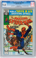 Modern Age (1980-Present):Superhero, The Amazing Spider-Man #209, 213, and 214 CGC Group (Marvel,1980-81) Condition: CGC NM/MT 9.8 Off-white to white pages....(Total: 3 Comic Books)