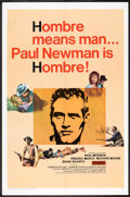 """Movie Posters:Western, Hombre (20th Century Fox, 1966). One Sheet (27"""" X 41"""") and Still (8"""" X 10""""). Western.. ... (Total: 2 Items)"""