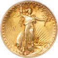 High Relief Double Eagles, 1907 $20 High Relief, Wire Rim--Improperly Cleaned--NCS. AU Details....