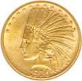 Indian Eagles, 1916-S $10 MS62 NGC....