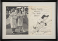 Autographs:Others, 1962 New York Mets Signed Dinner Program. ...